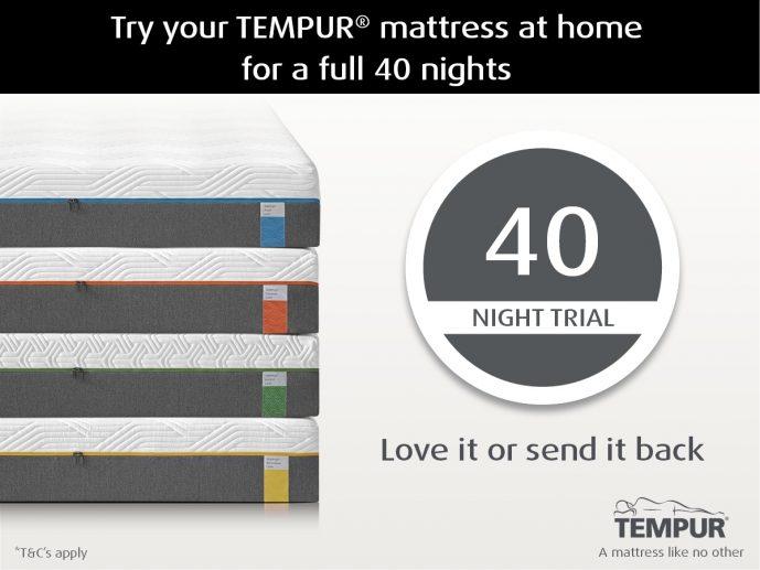 TEMPUR'S 40 Night Trial