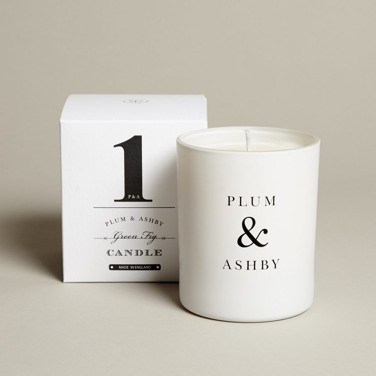 1 Green Fig Candle