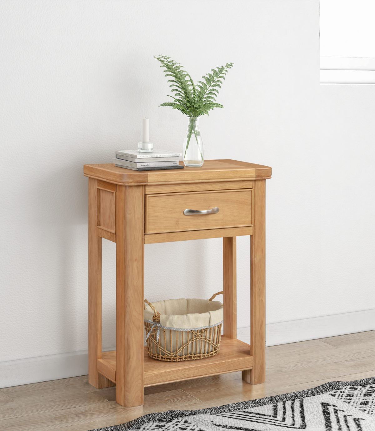 110 14 Chatsworth Small Console with 1 Drawer Feature