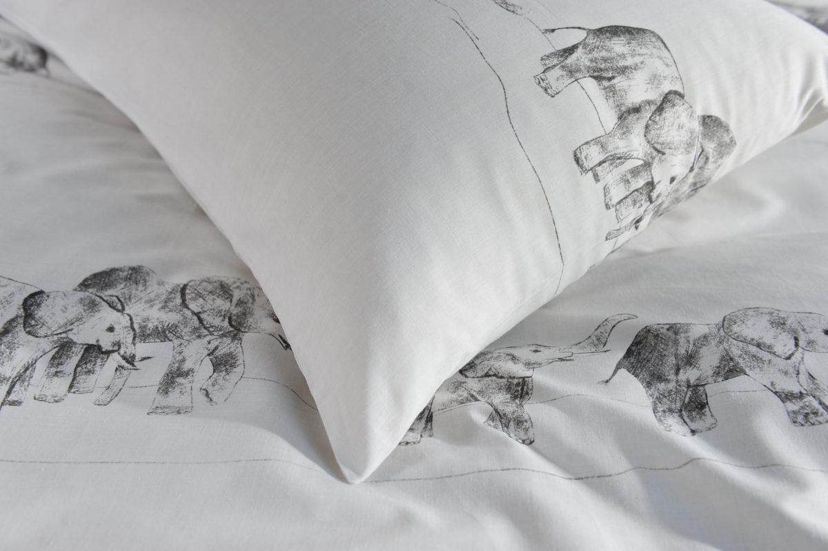 Elephant Pillow detail shot