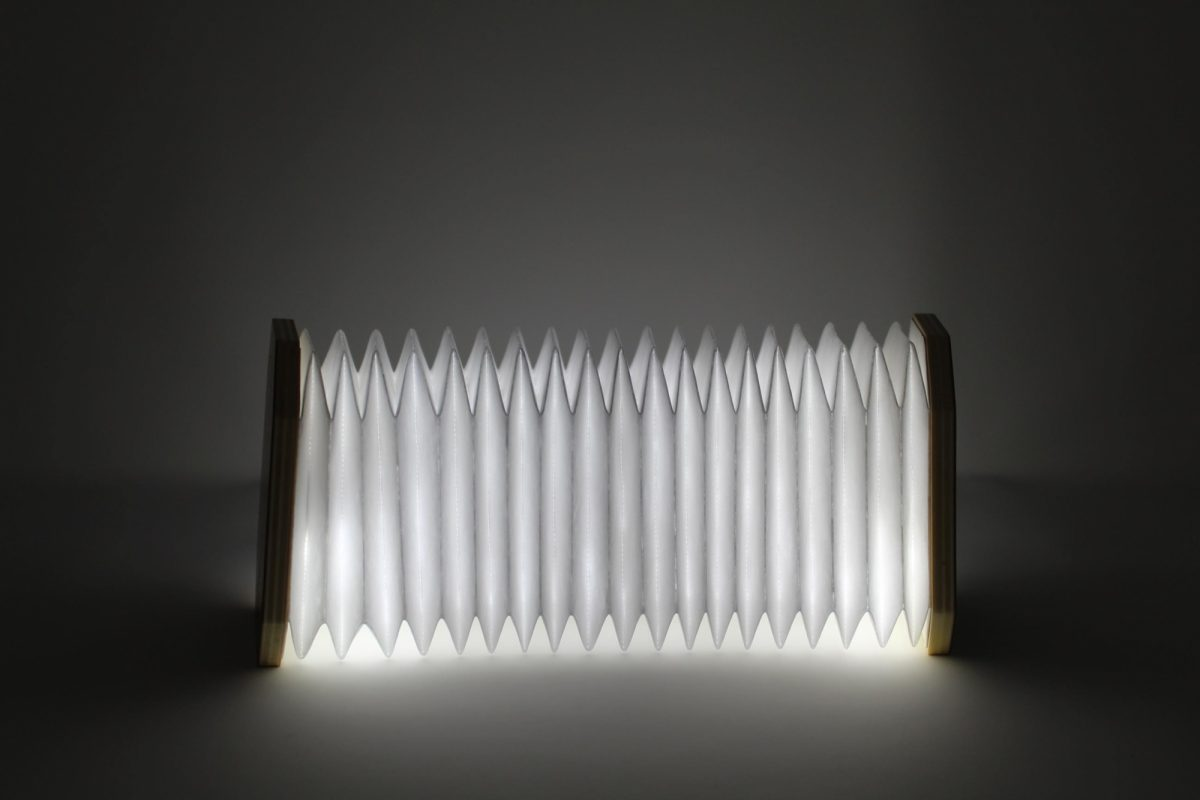 Accordian Lamp 1