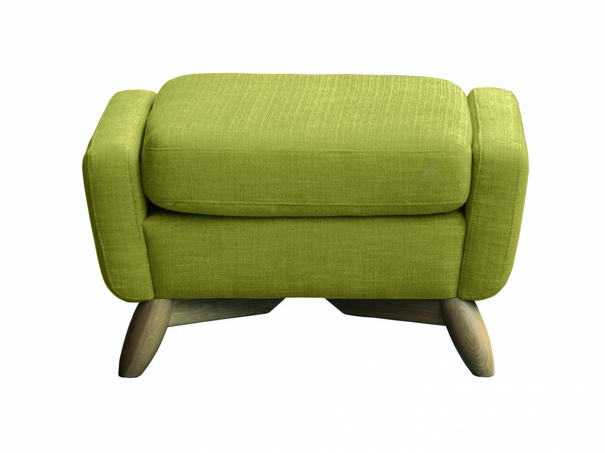 3331 Cosenza Footstool Green
