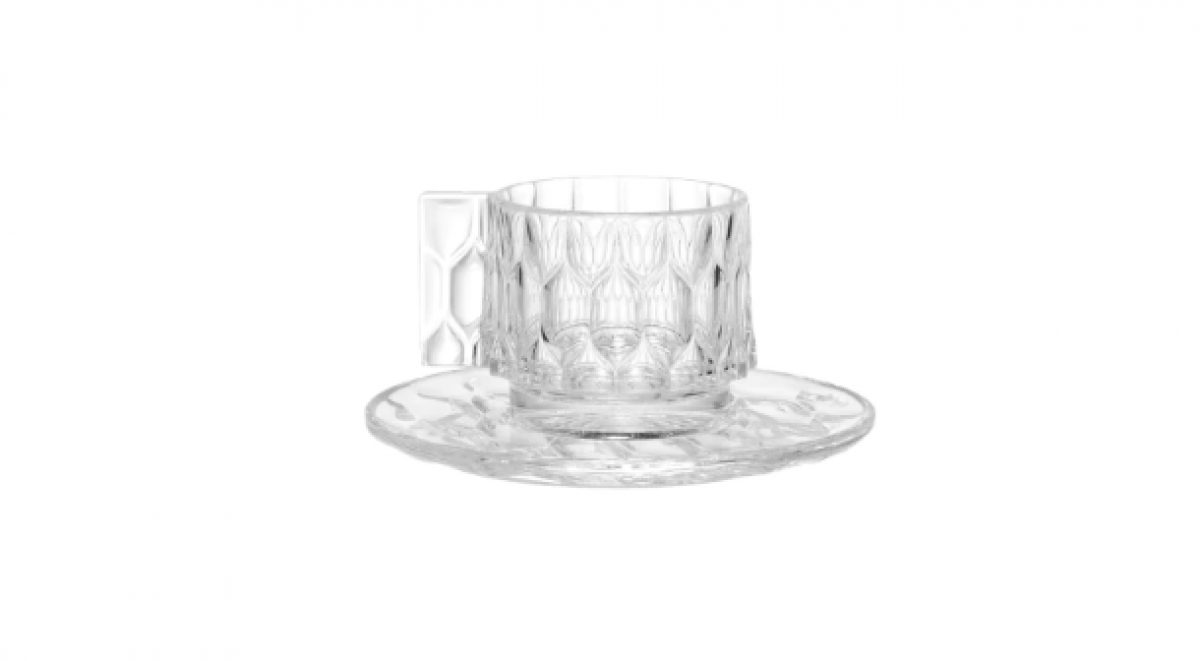 Crystal coffee cup 1
