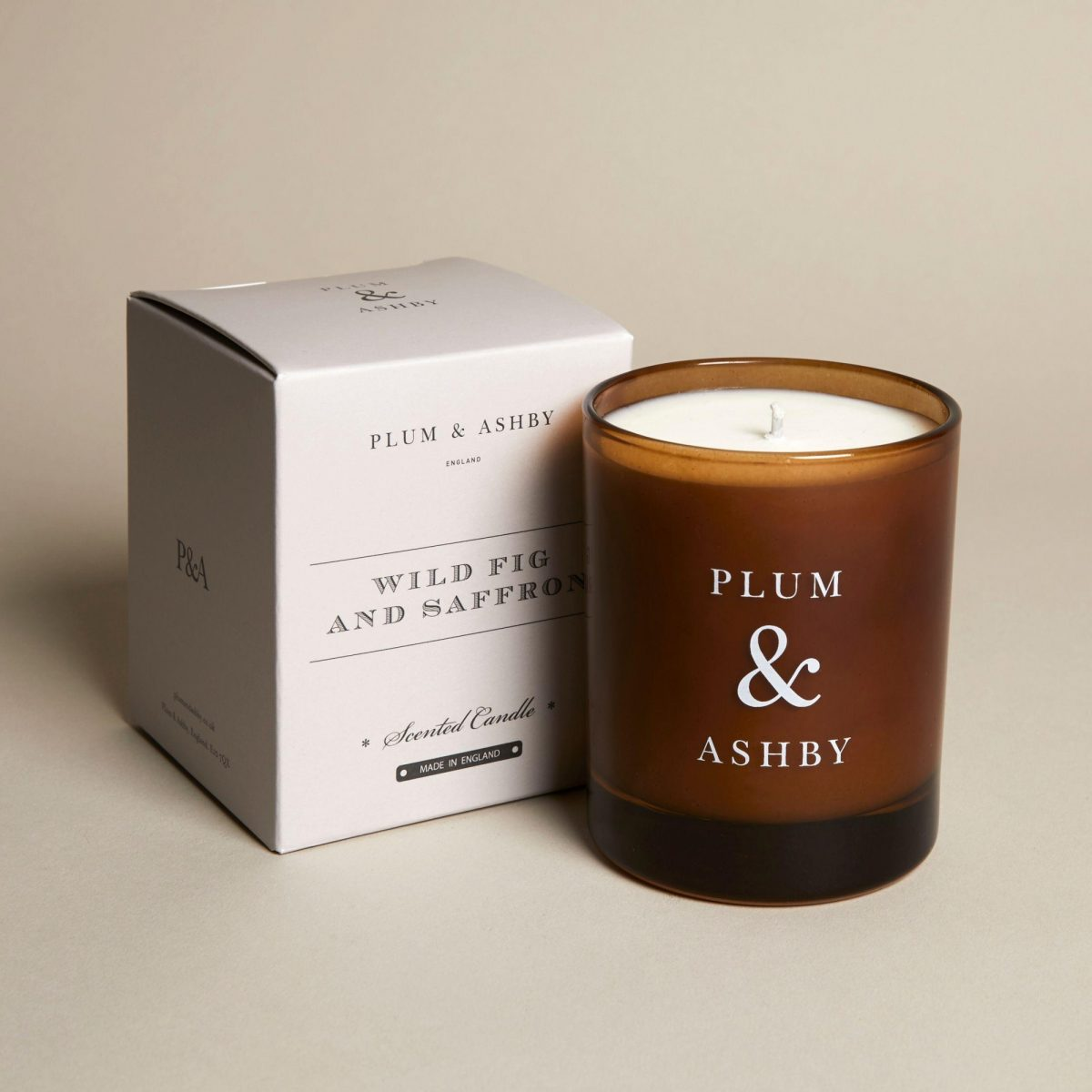 Plum & Ashby Wild Fig and Saffron Candle