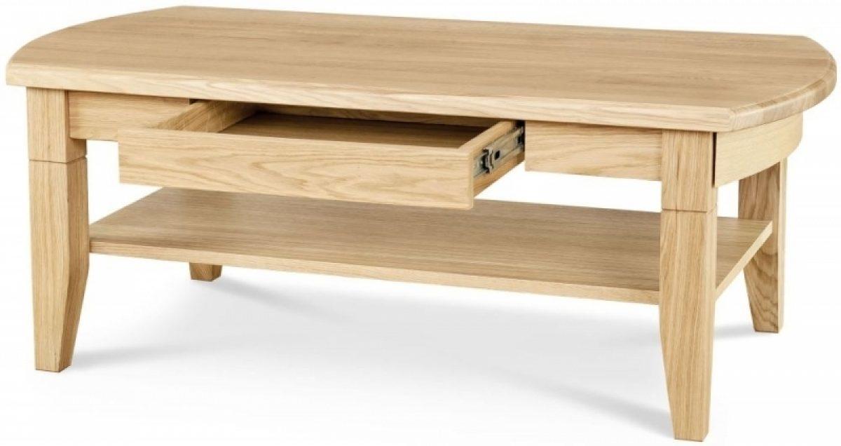 4 Clemence Richard Moreno Oak 1 Drawer Storage Coffee Table 01