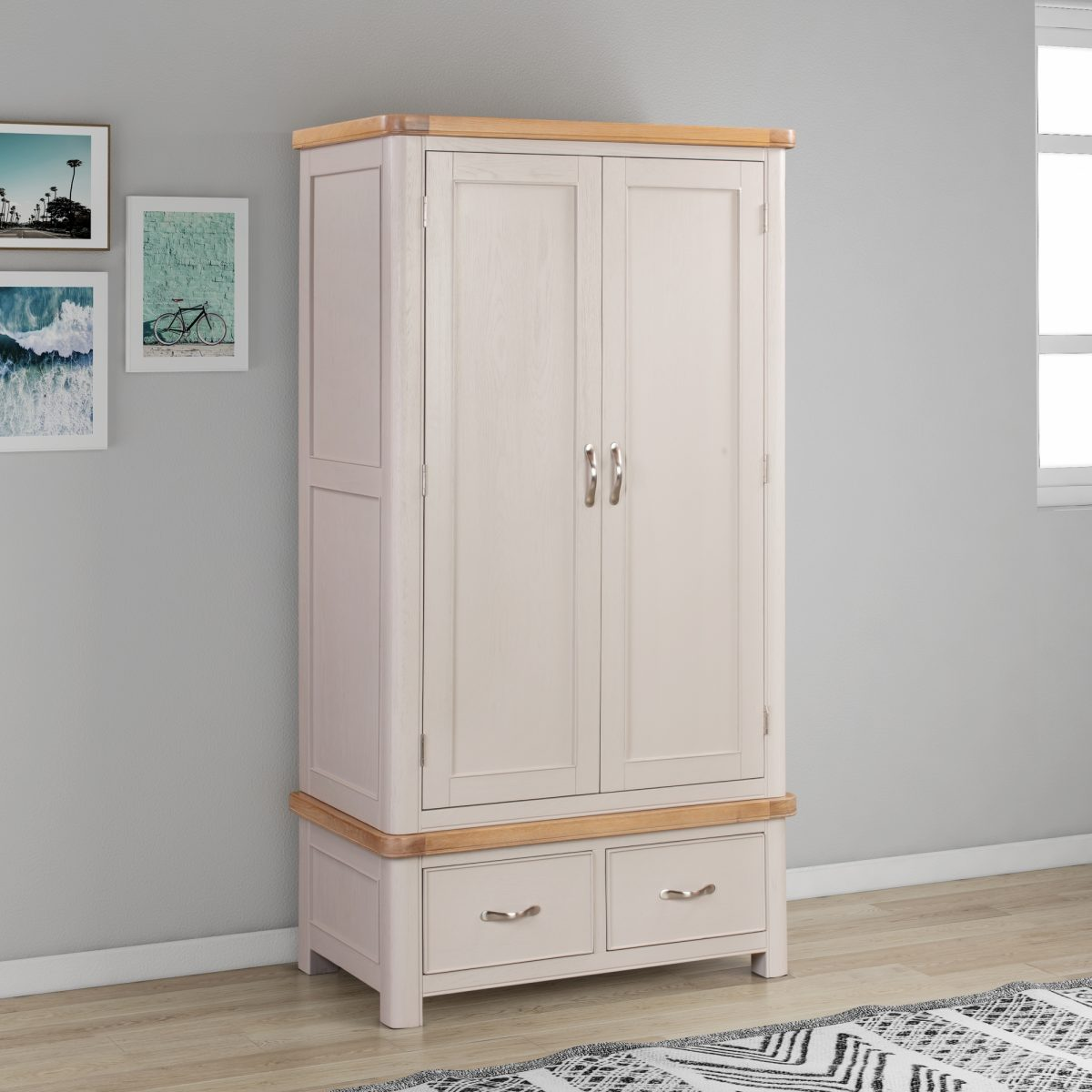 84 28 Chatsworth Painted Double Robe feature