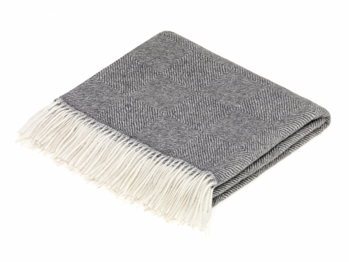 ALP 5109 Alpaca Diamond Herringbone Natural Grey
