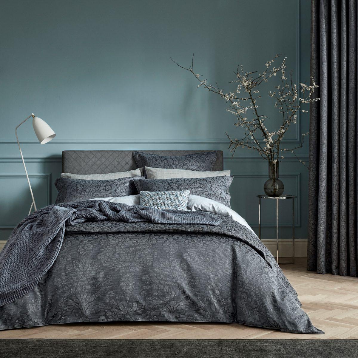 BEDECK OF BELFAST Allegro Midnight main bed hr