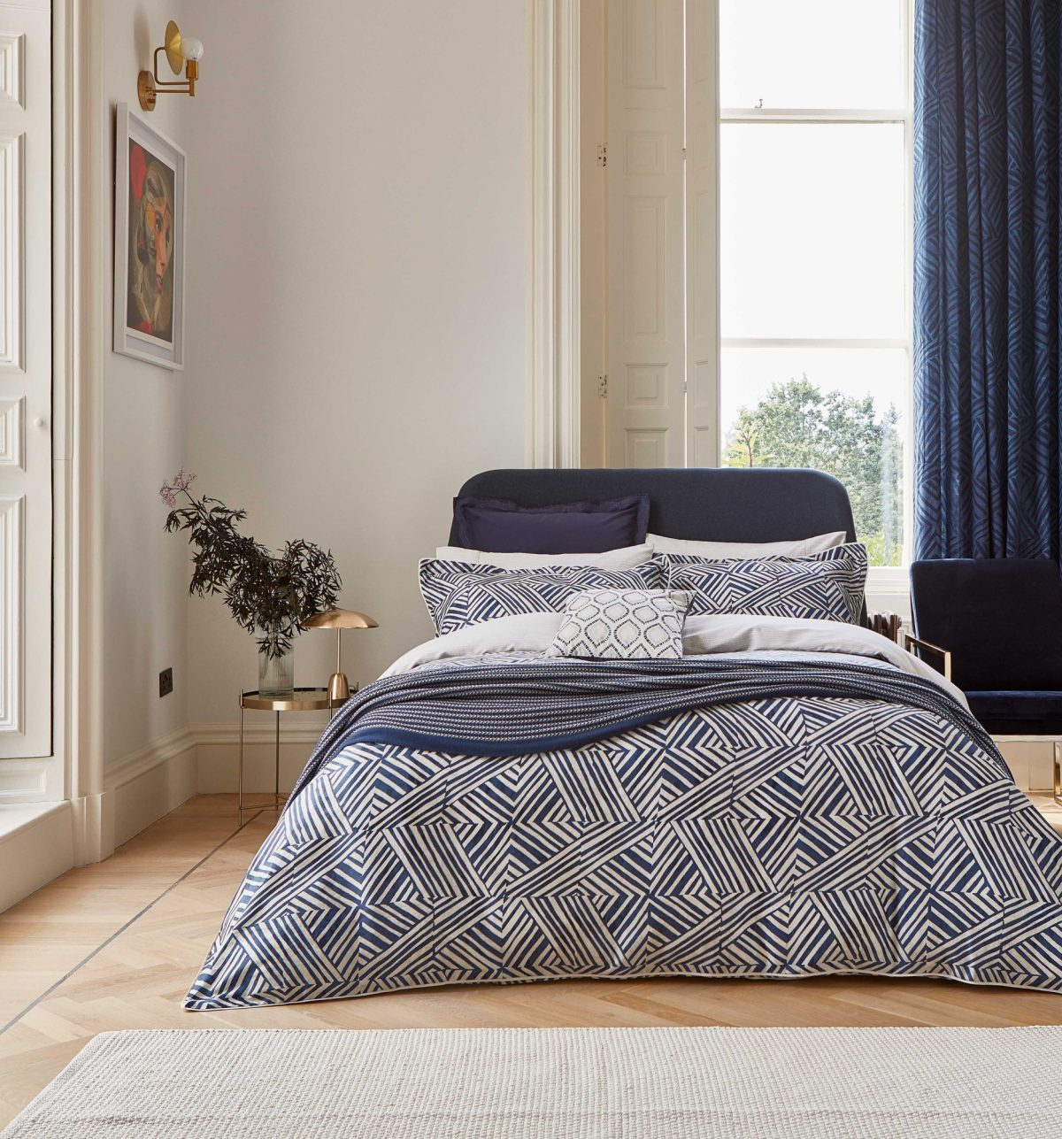 BEDECK OF BELFAST Konoko main bed LR