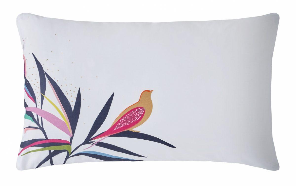 Bamboo Left Pillowcase Cut Out