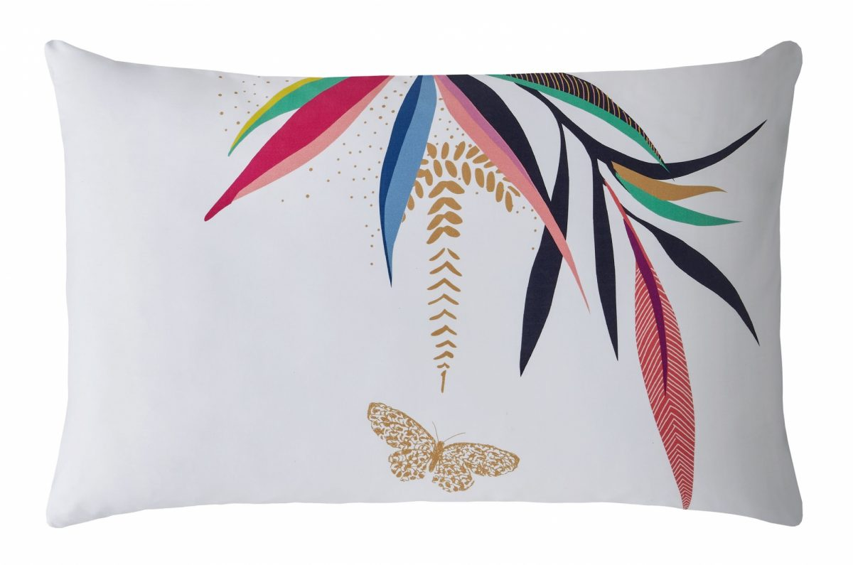 Bamboo Right Pillowcase Cut Out