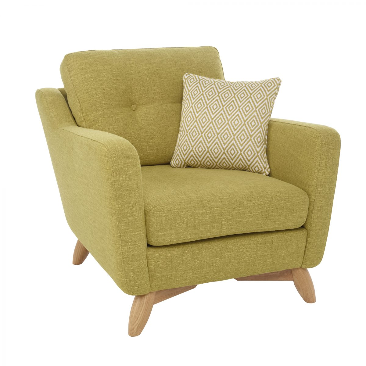 Cosenza 3330 Chair Cutoutangle Oak Cm T302