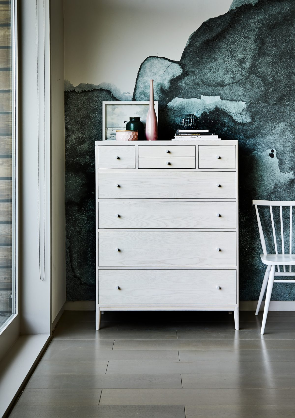 Ercol Salina 3896 8 drawer chest Ash Pt