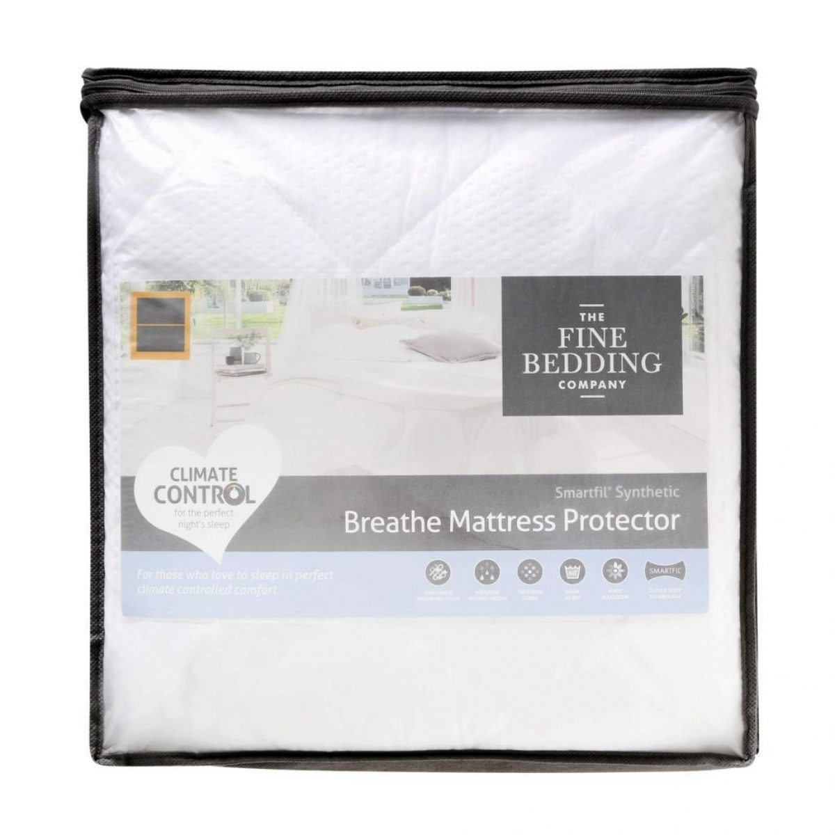 Fine Bedding Breathe Mattress Protector Packed 1024x1024