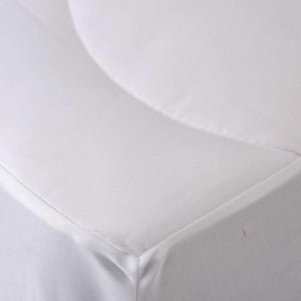 Fine Bedding Spundown Mattress Protector Detail 1024x1024