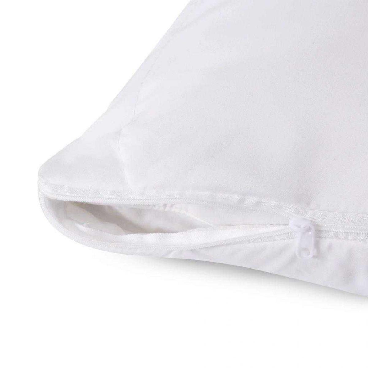 Fine Bedding Spundown Pillow Protector Detail 1024x1024
