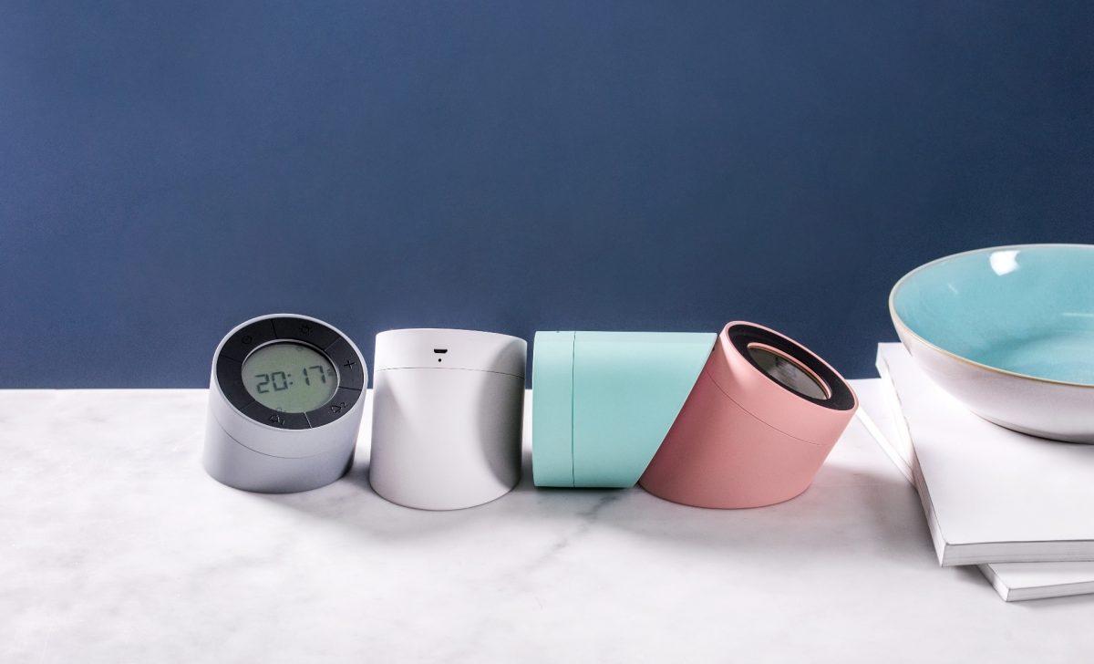 Gingko Edge Light Alarm Clock10