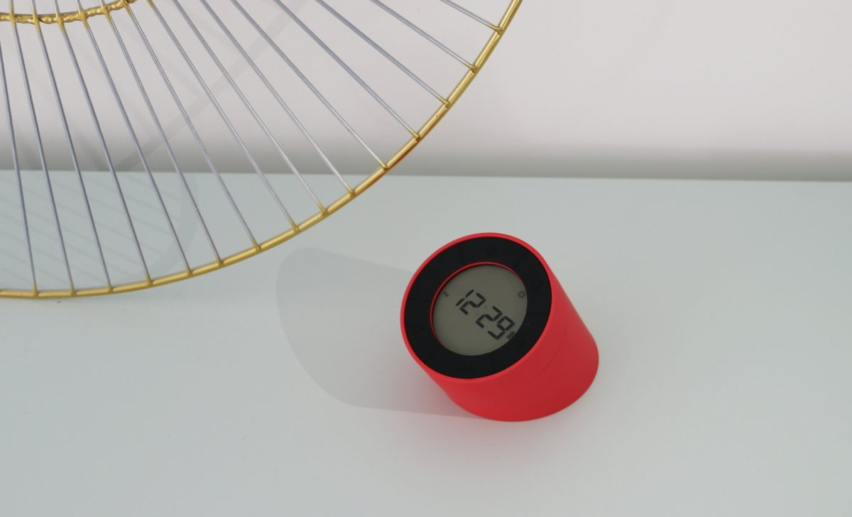 Gingko Edge Light Alarm Clock43