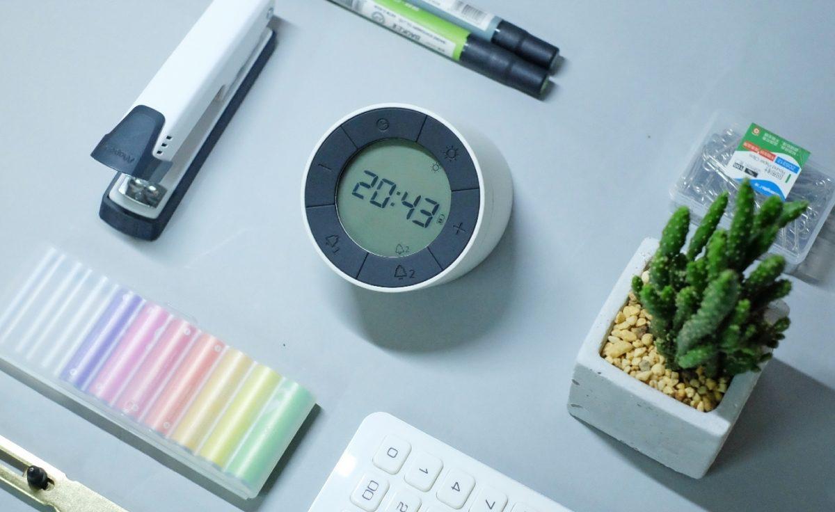 Gingko Edge Light Alarm Clock