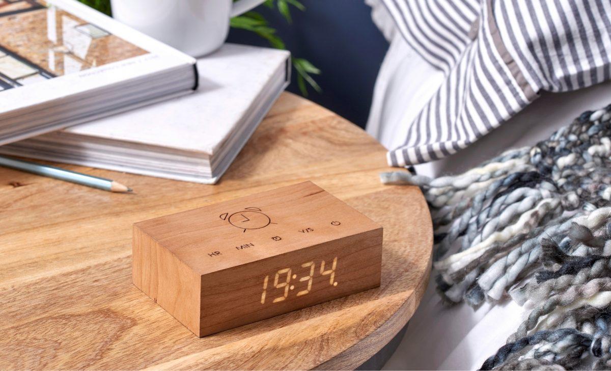 Gingko Flip Click Clock00 cher