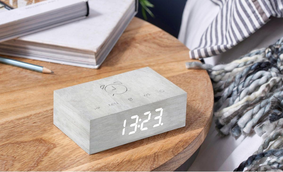 Gingko Flip Click Clock32