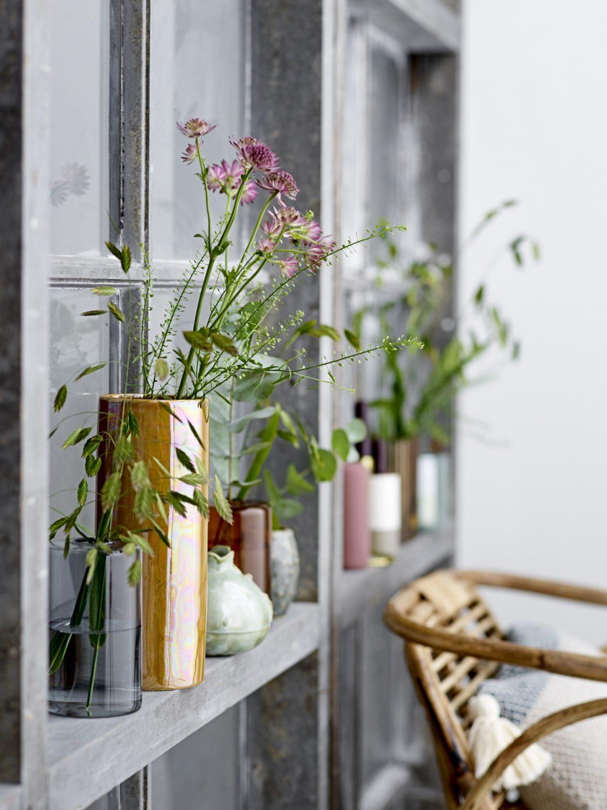Green Stone Vase Vintage 3
