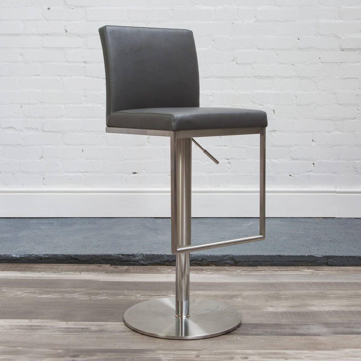 Hnd Cadiz Stool Grey 45