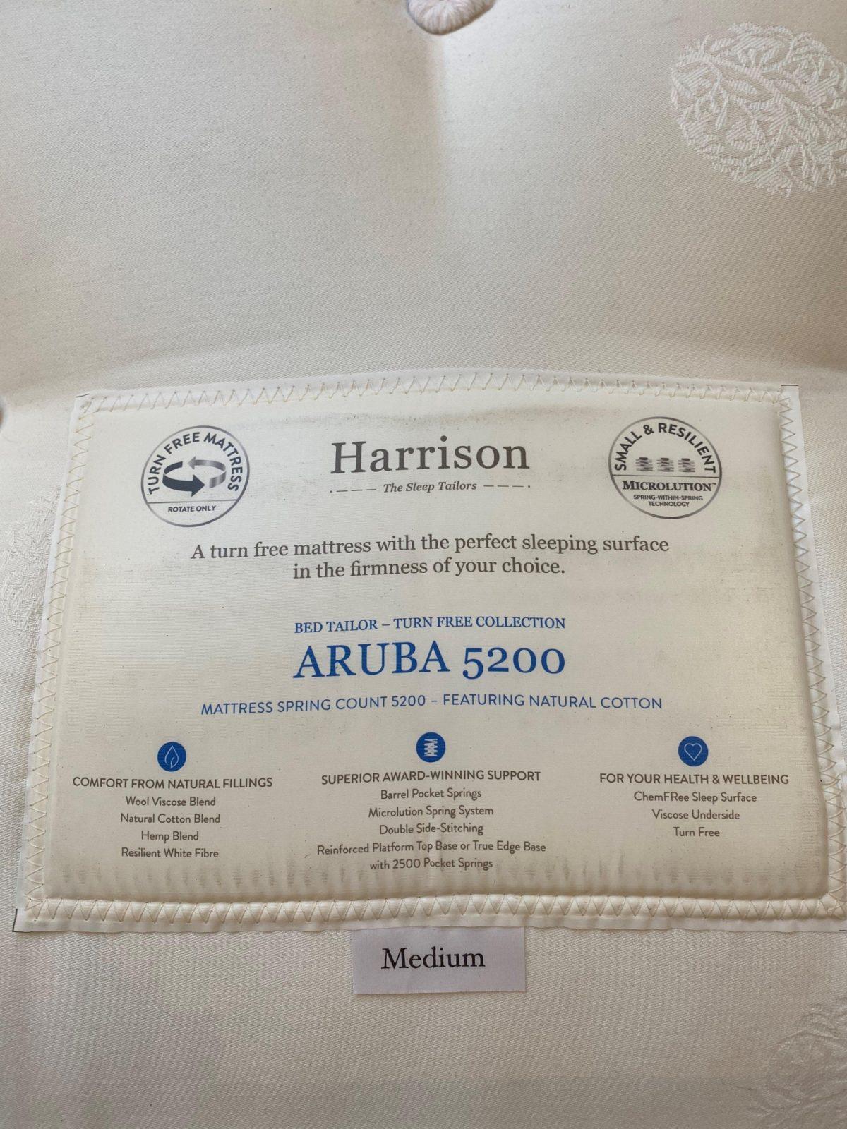 Harrison Aruba 5 Label