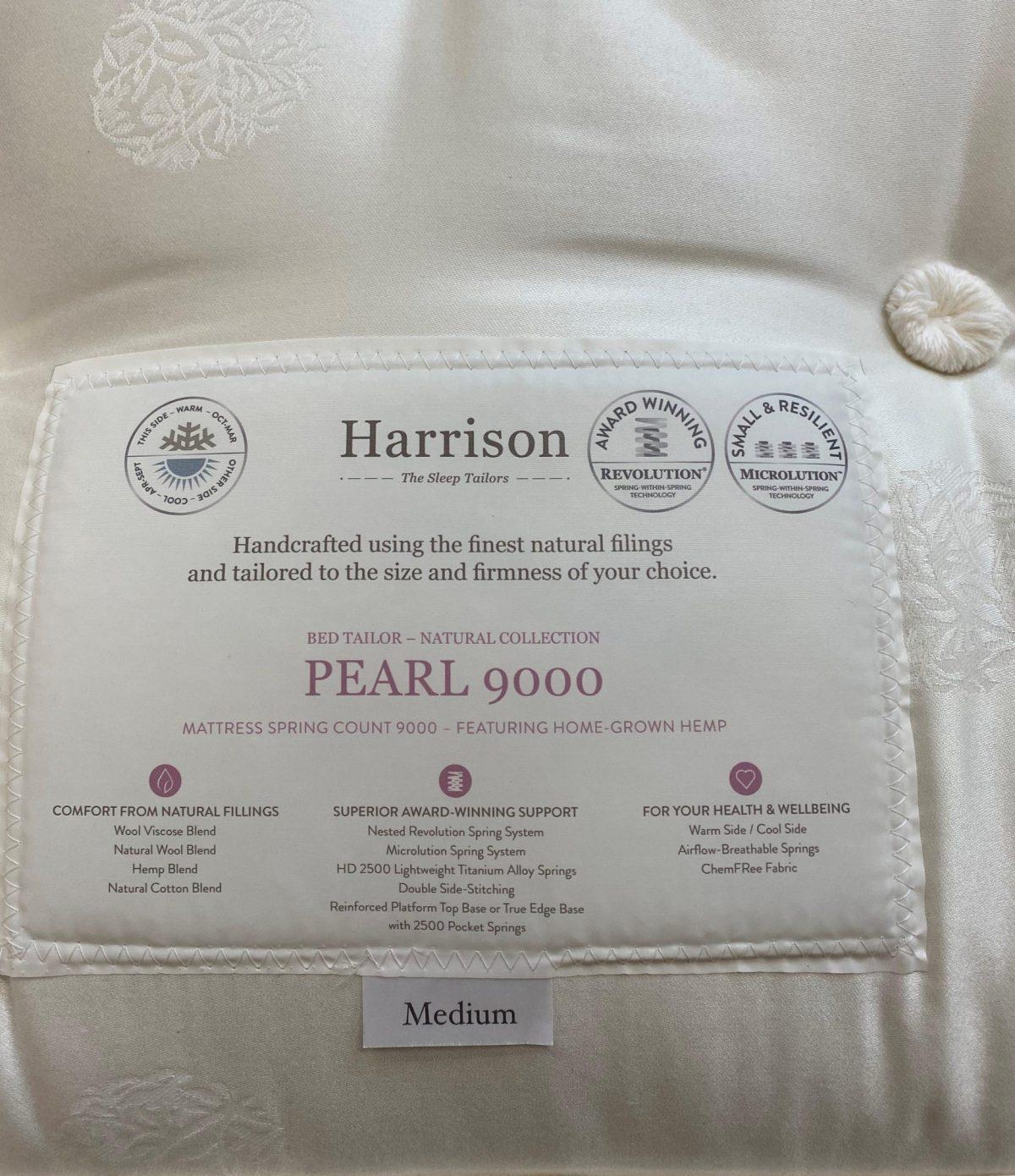 Harrison Pearl Label