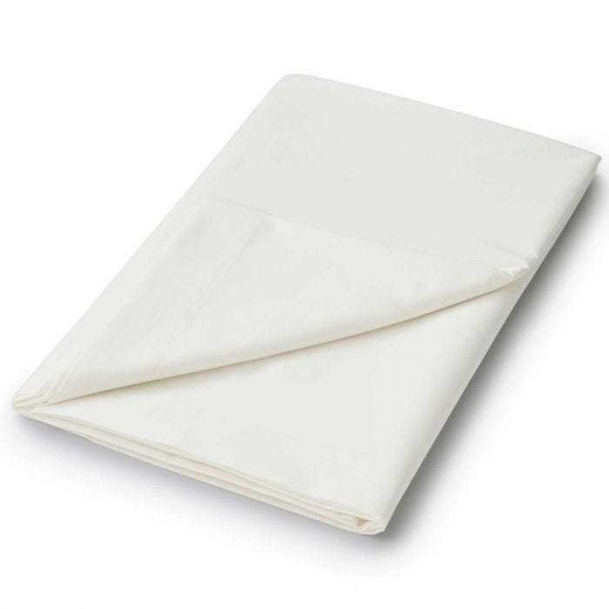 Helena Springfield Flat Fitted Sheet Ivory