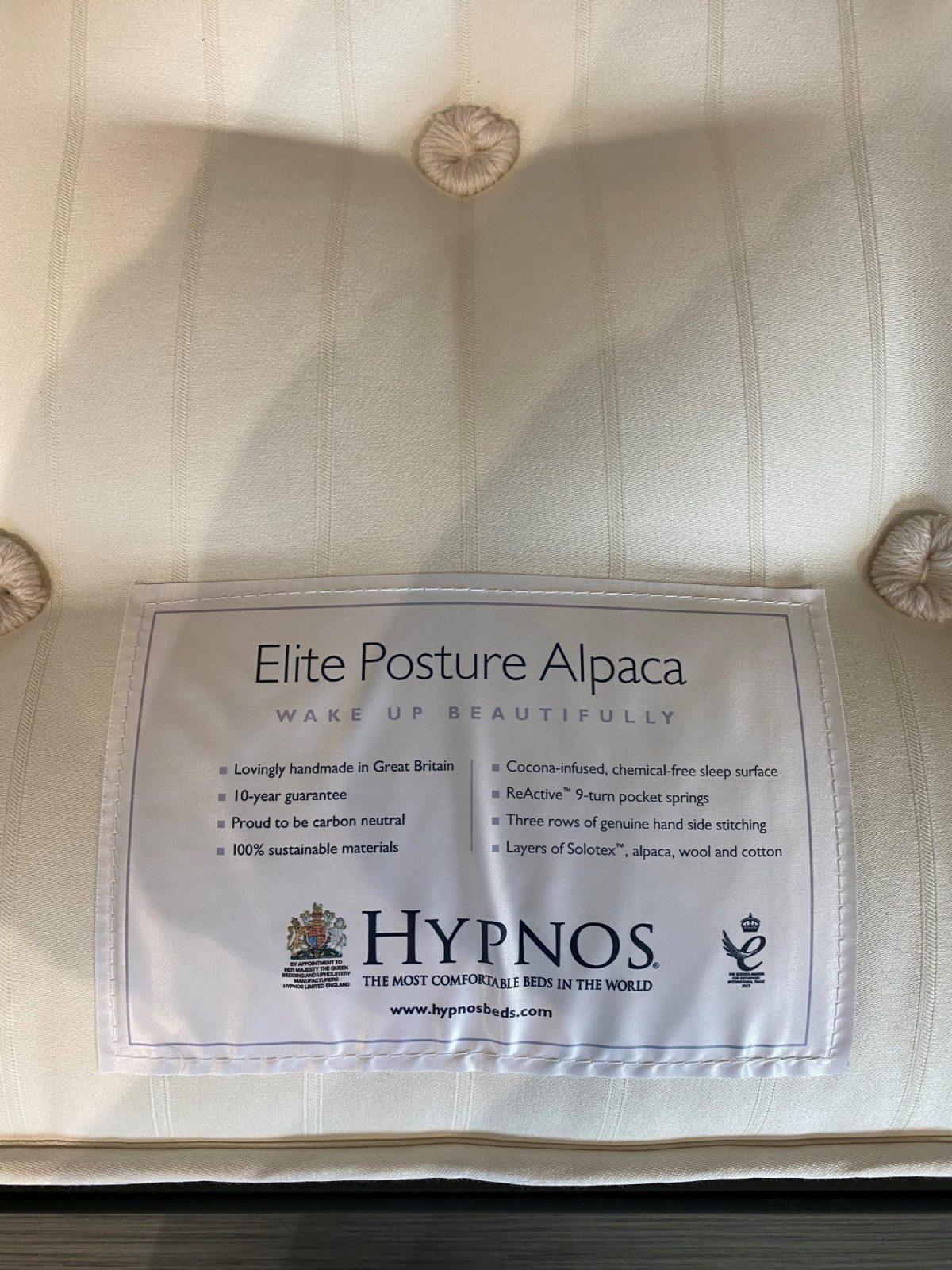 Hypnos Elite Alpaca Label