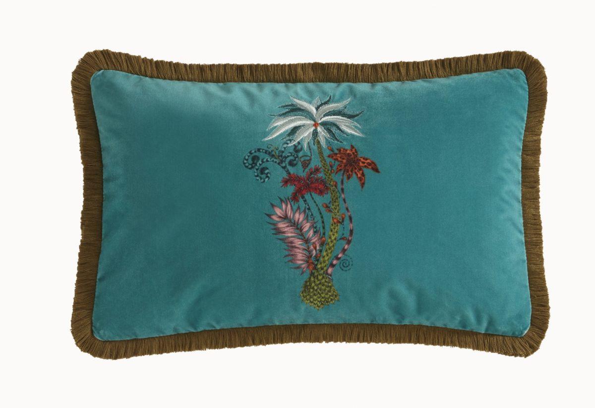 Jungle Palms Rec Teal 028