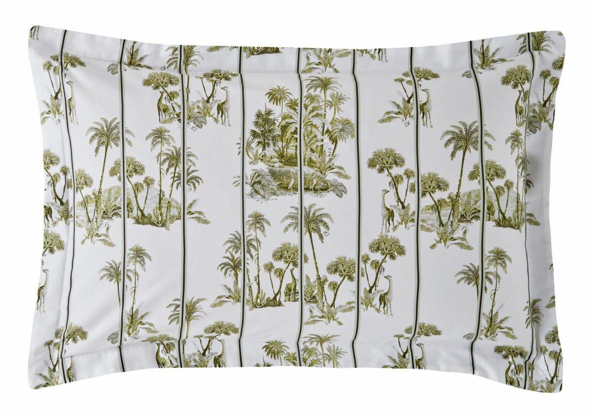 Laurel Pillowcase Cut Out