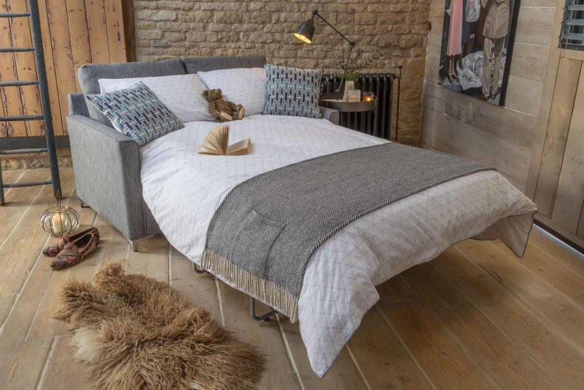 Lexi 2str Sofa Bed open