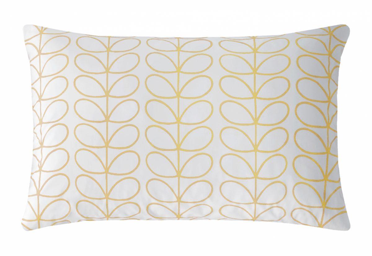 Linear Stem Dandelion Pillowcase Cut Out