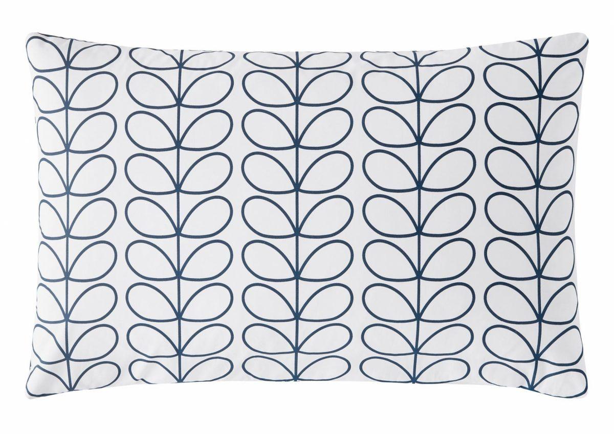 Linear Stem Whale Pillowcase Cut Out