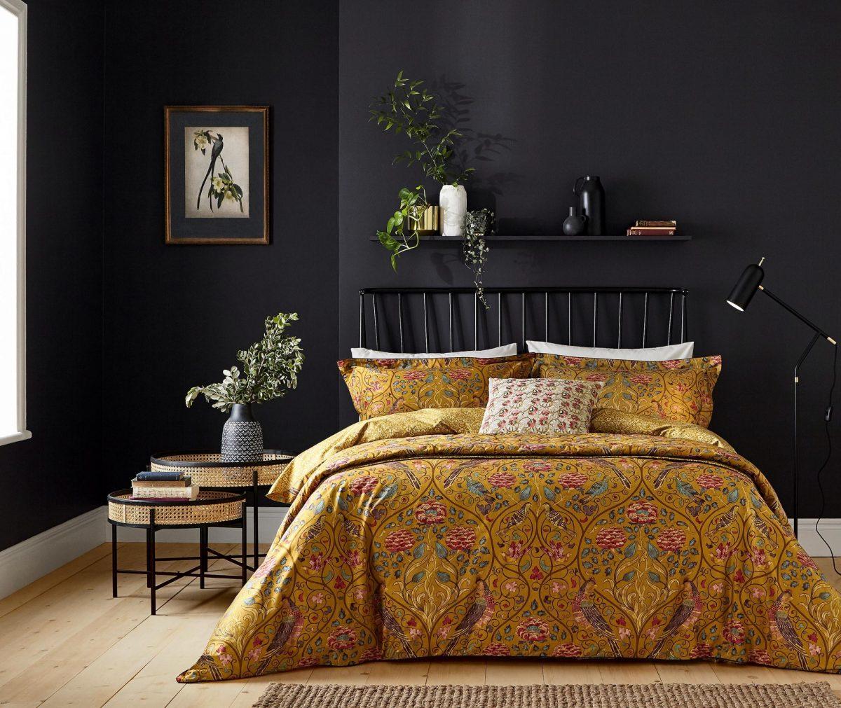 MORRIS Seasons By May main bed no throw LR