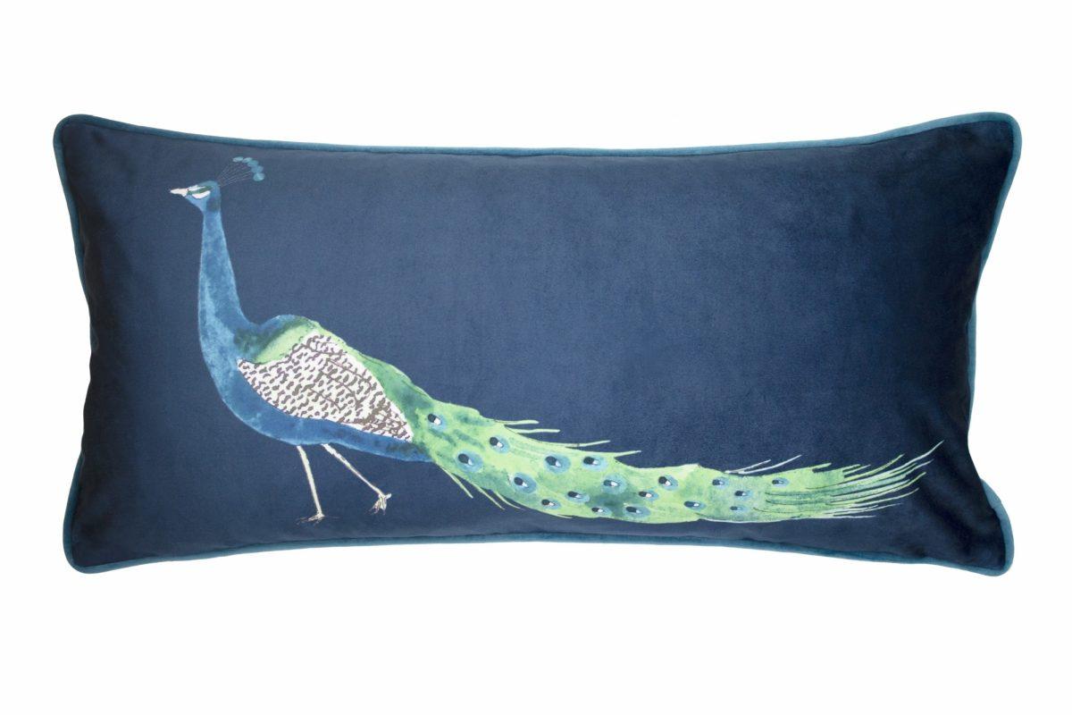 Peacock Cushion 30x60