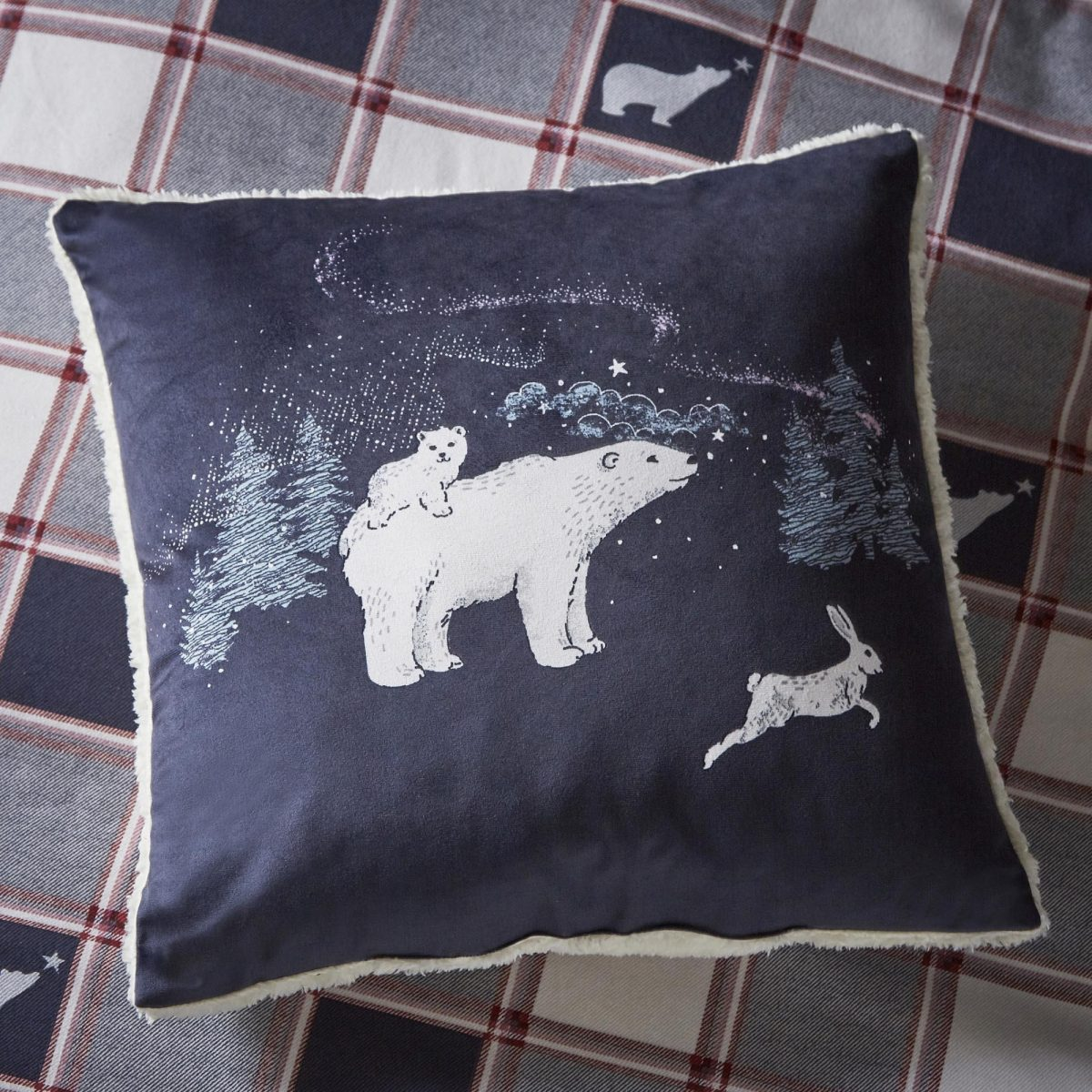 Polar Bear Cushion Cameo For Email