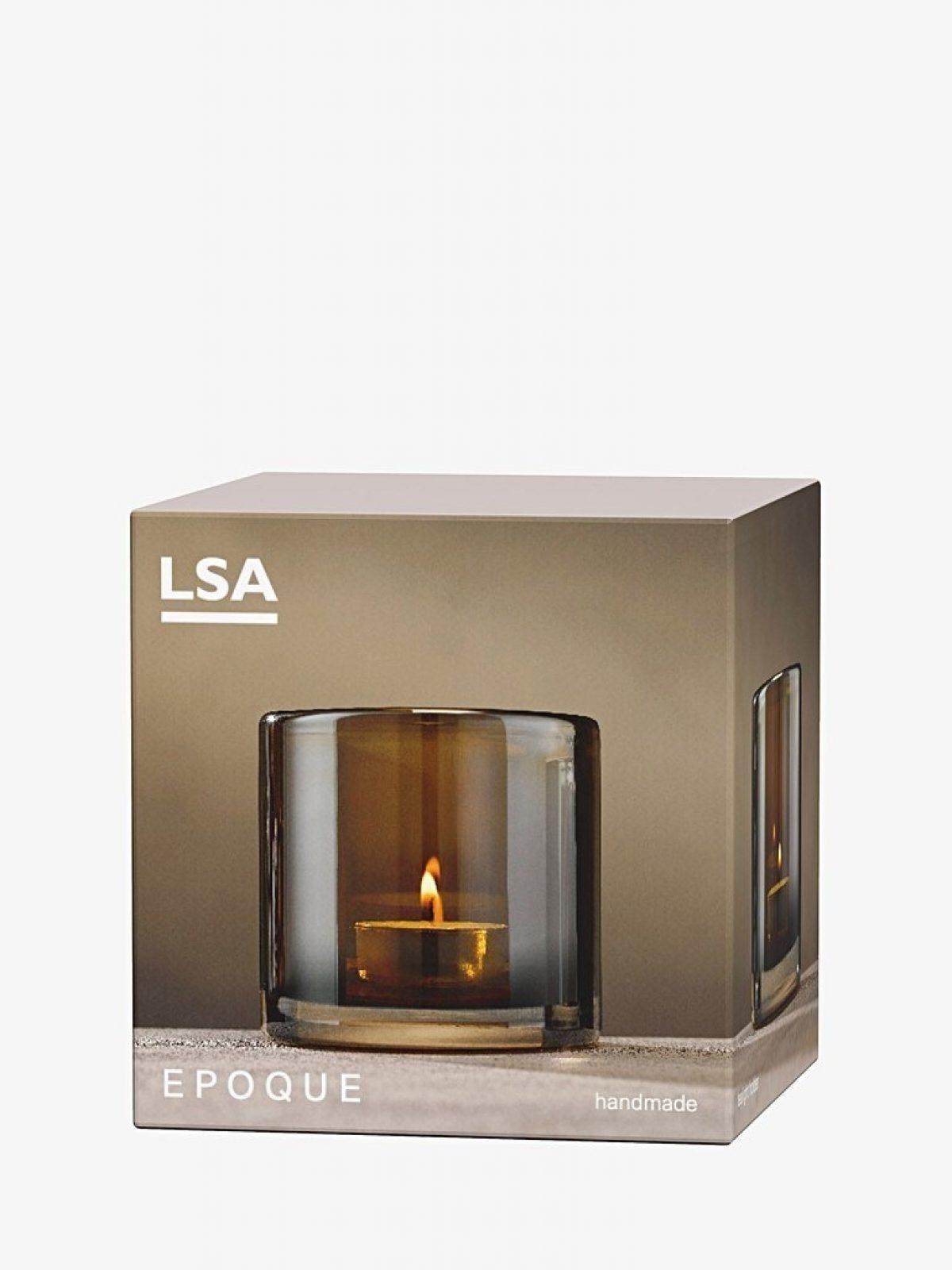 Qpoque amber tea Light holder 1