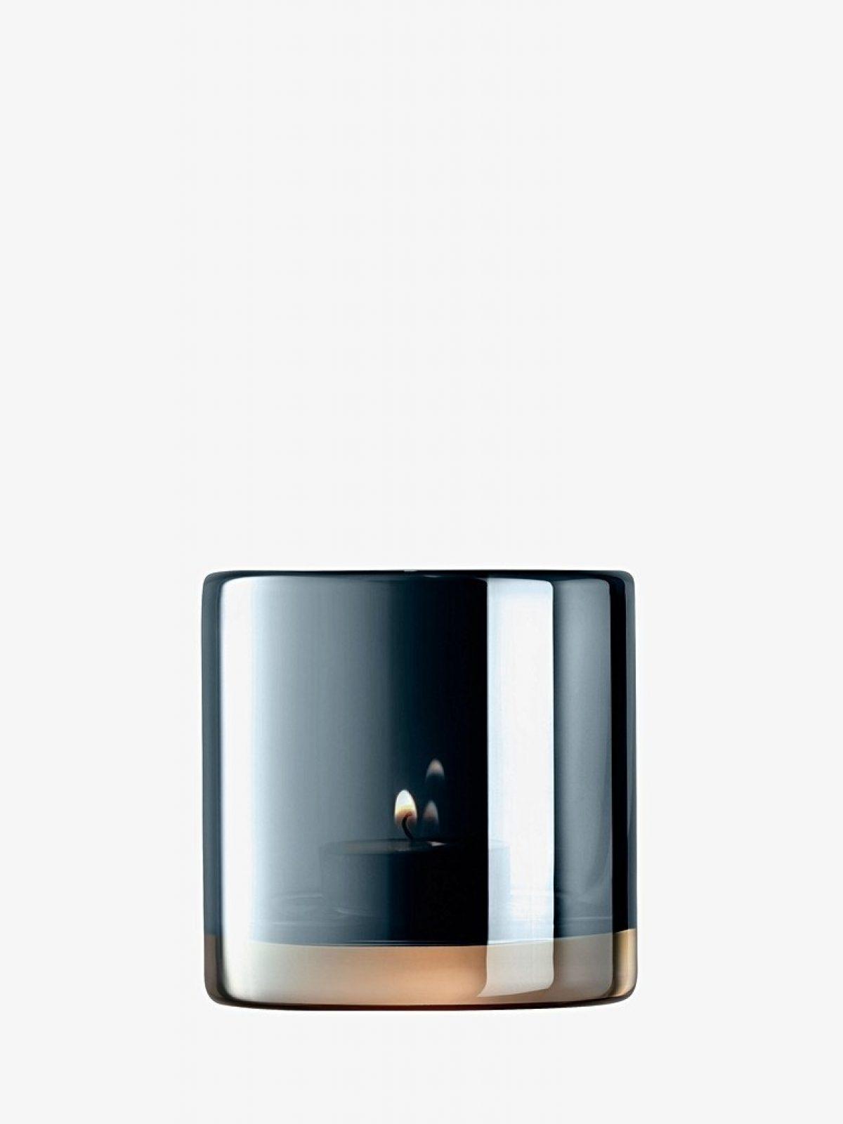 Qpoque saphire tea Light holder