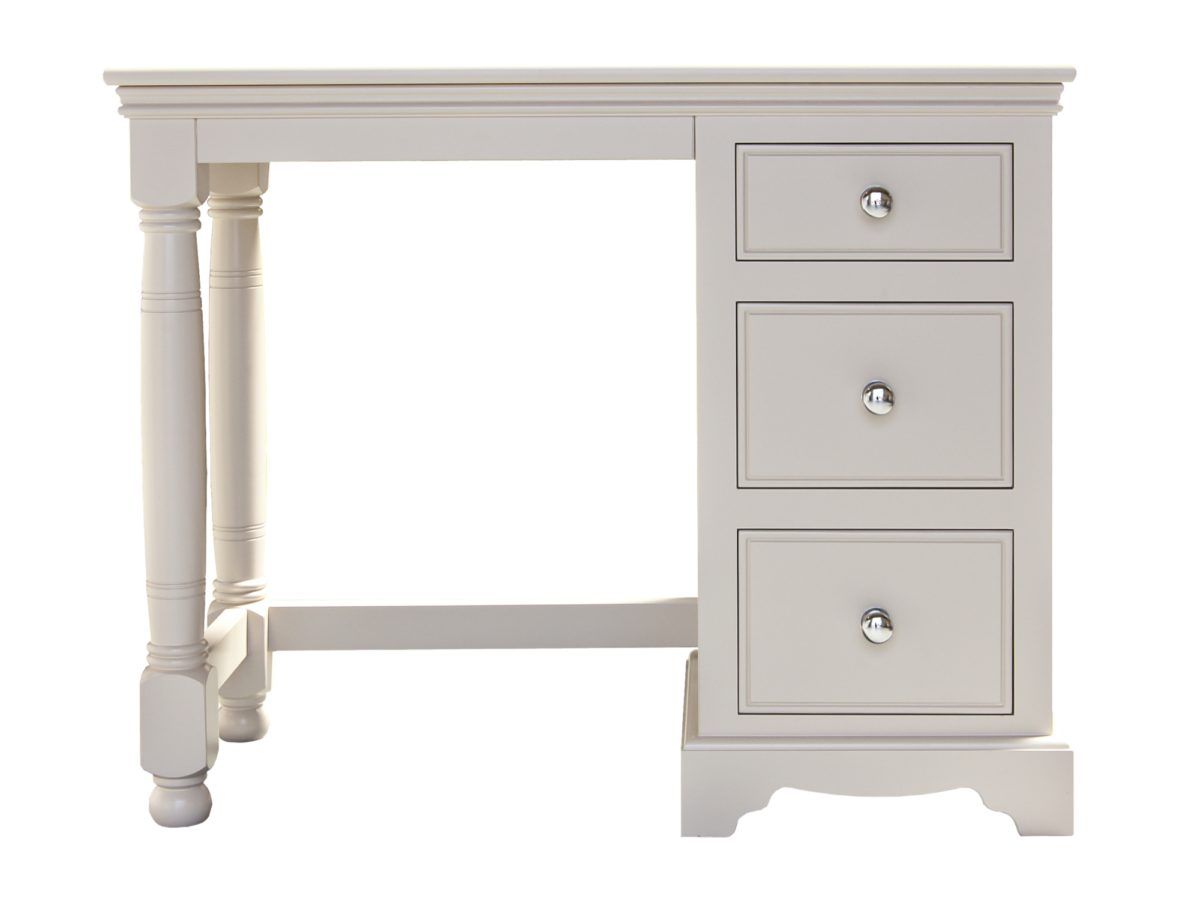 Single Ped Dressing Table Turned Legs