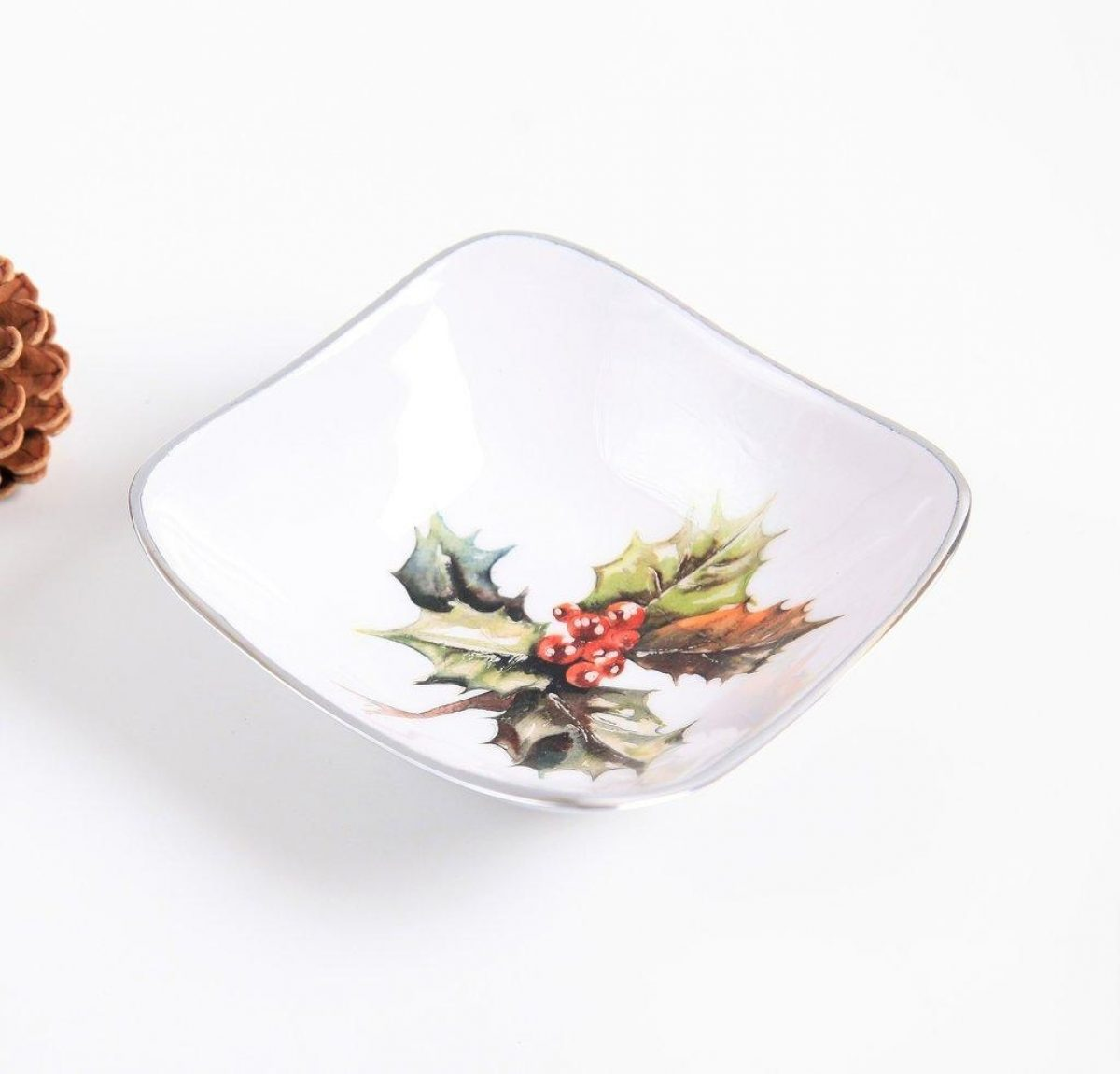 Square Bowl Holly 1