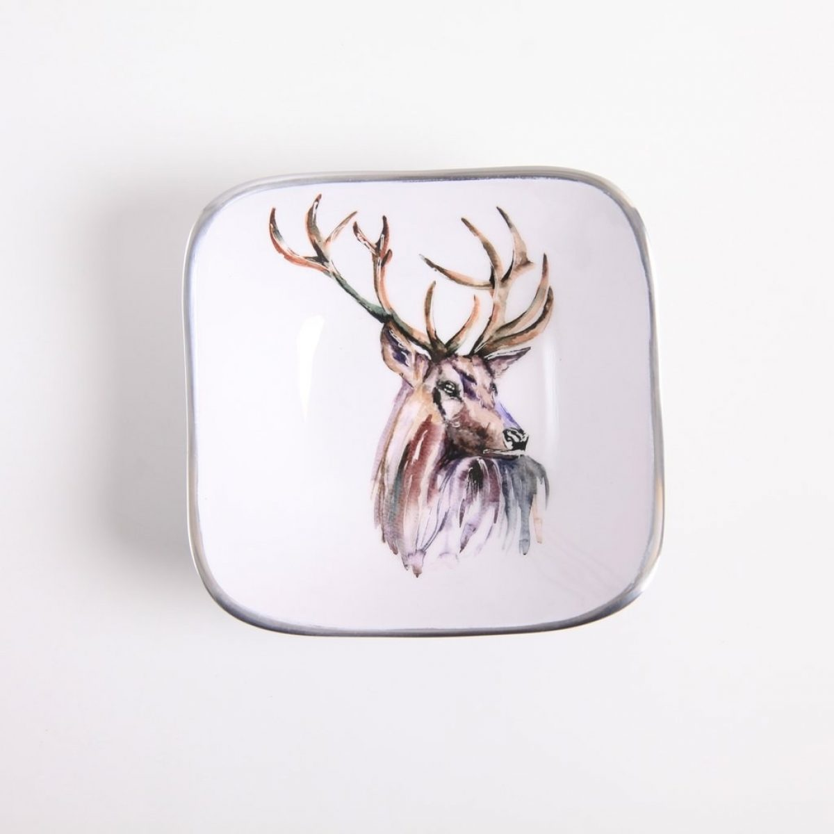 Square Bowl Stag 1
