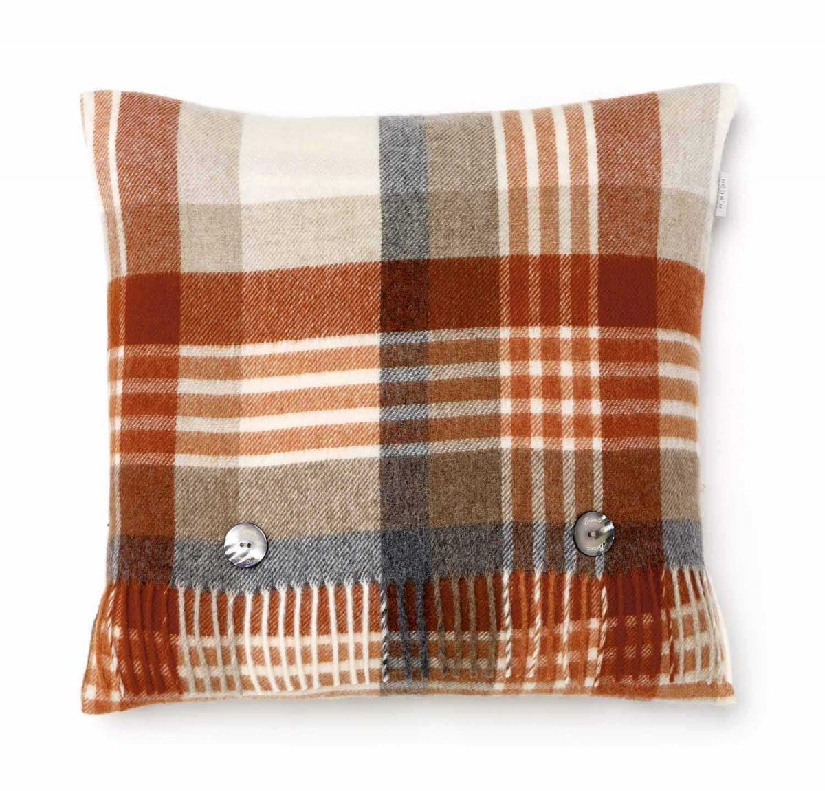 T0359 K06 Lambswool Melburne Saffron Cushion
