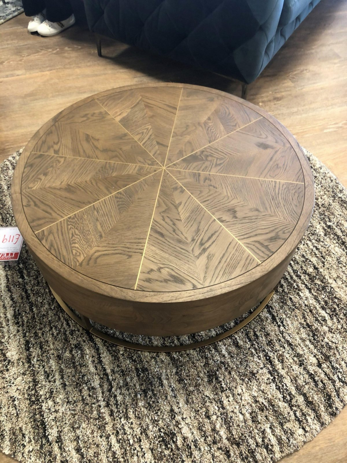Theodore Round Coffee Table