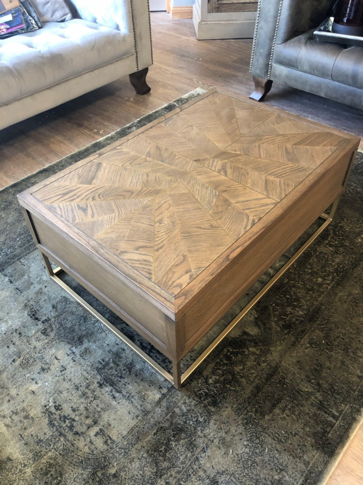 Theodore Square Coffee Table