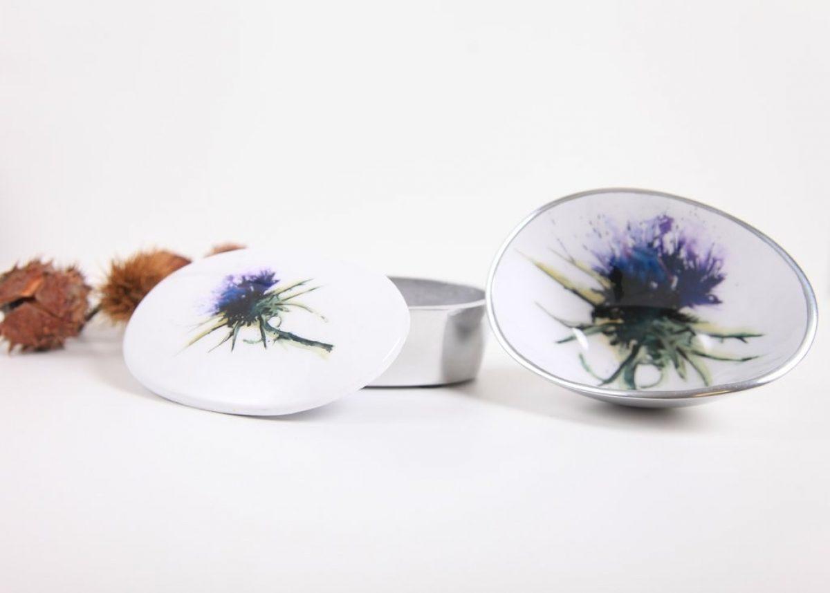 Thistle oval bowl petite 2