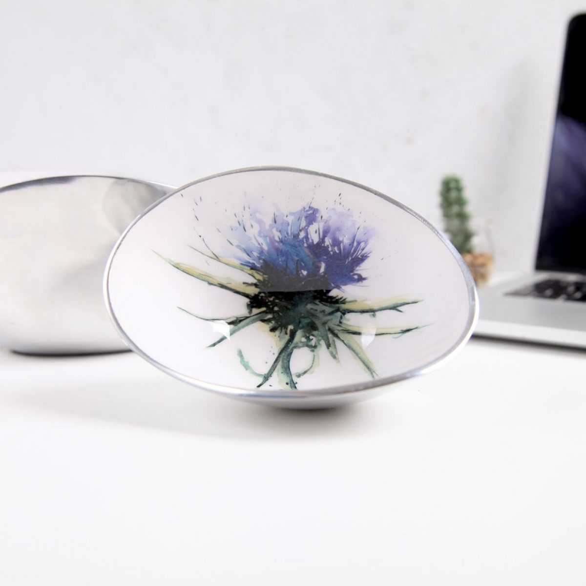 Thistle oval bowl small 1
