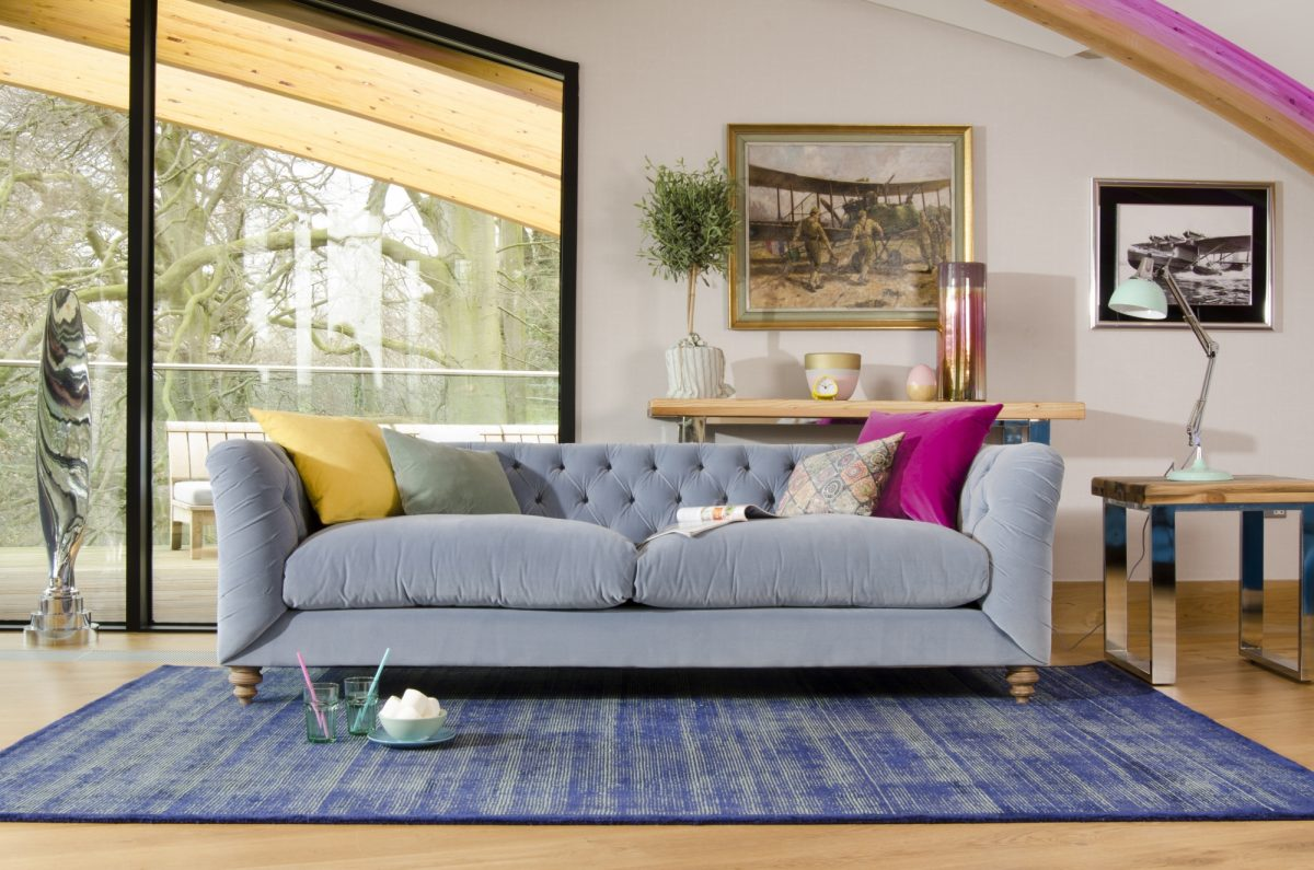 Truffle grand sofa